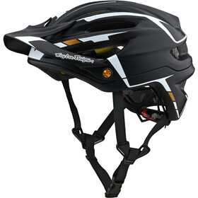 Troy Lee Designs A2 Mips Helmet sliver black/white